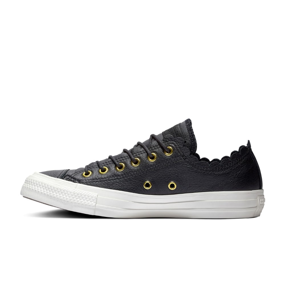 0e3a47f24 Converse. Chuck Taylor All Star Scalloped Leather Ox