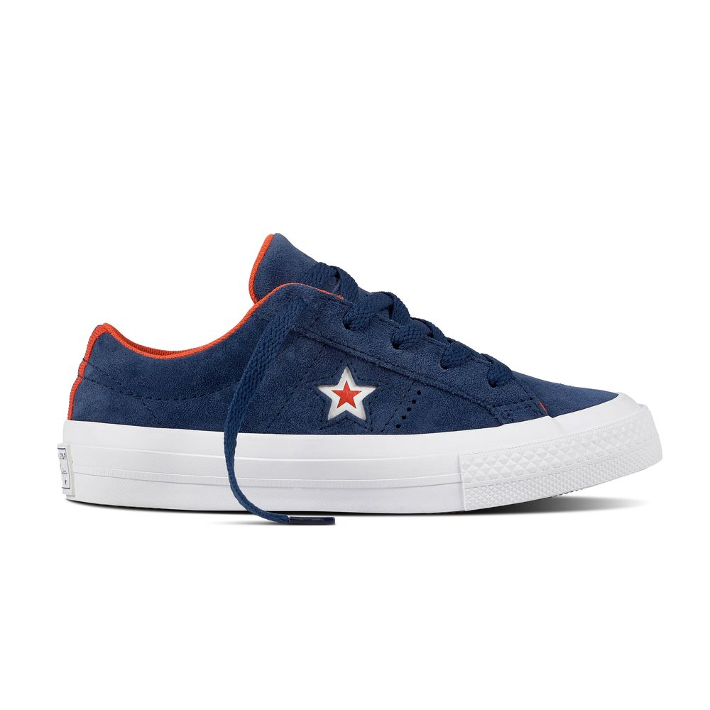 converse one star ox navy