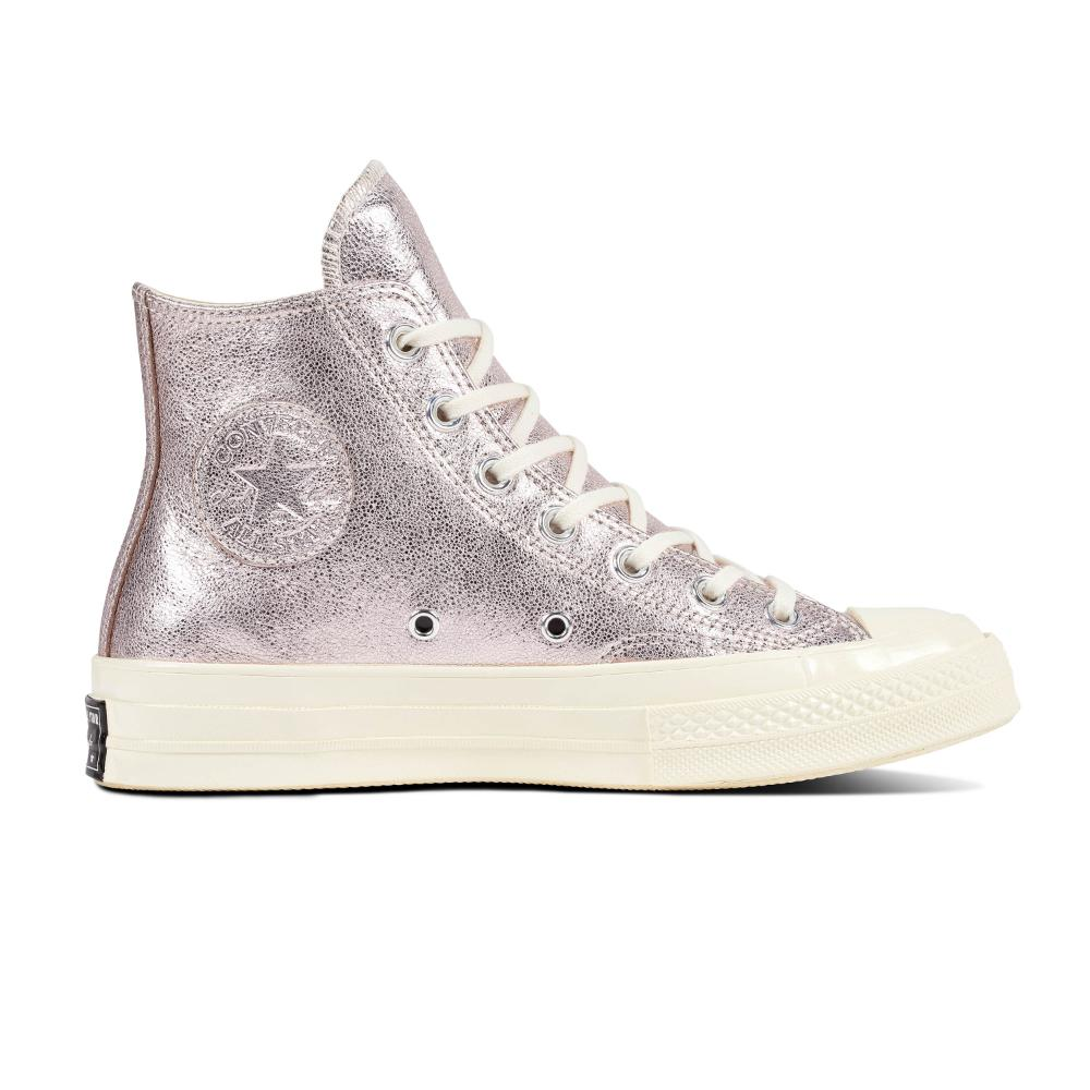 2044cc694f23ad Converse Chuck 70 Metallic Leather Hi Pink - Coliseum