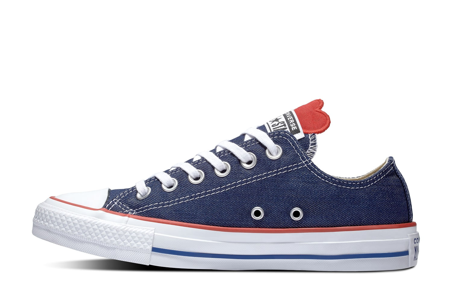 5e69cd8a86b87 Converse. Chuck Taylor All Star Denim Love Ox