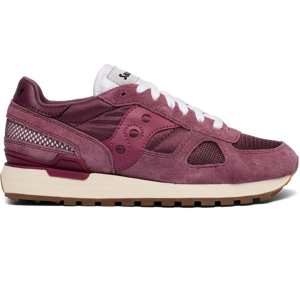 saucony shadow original zapatos sneakers para mujer maroon