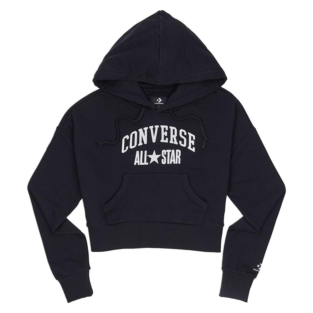 Sweatshirt Mujer Converse All Star Pullover Hoodie 10017828 001