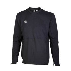 65422U-060-1-PRO-FLEECE-TRAINING-SWEAT-TOP-BLACK