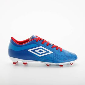 81407U-HPX-0-Umbro-Velocita-IV-League-FG---JNR--Niños---Color-TW-Royal-White-Vermillion-Regal-Blue-