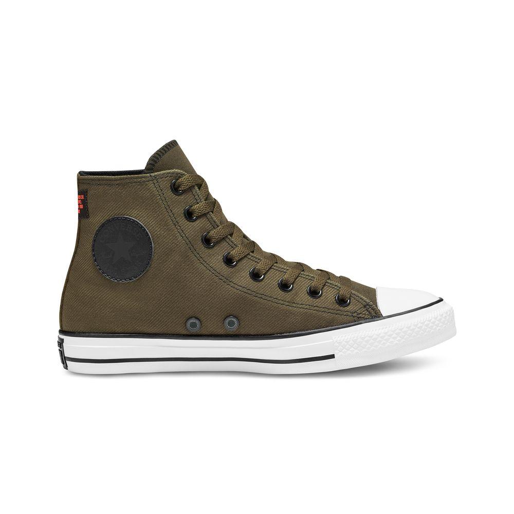 zapatillas converse hombre marron